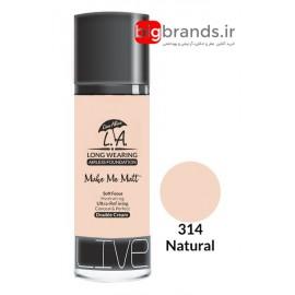 Live Alive l.a double cream oil free کرم پودر ال ای 314