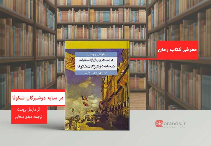 کتاب در سایه دوشیزگان شکوفا اثرمارسل پروست وترجمه: مهدی سحابی