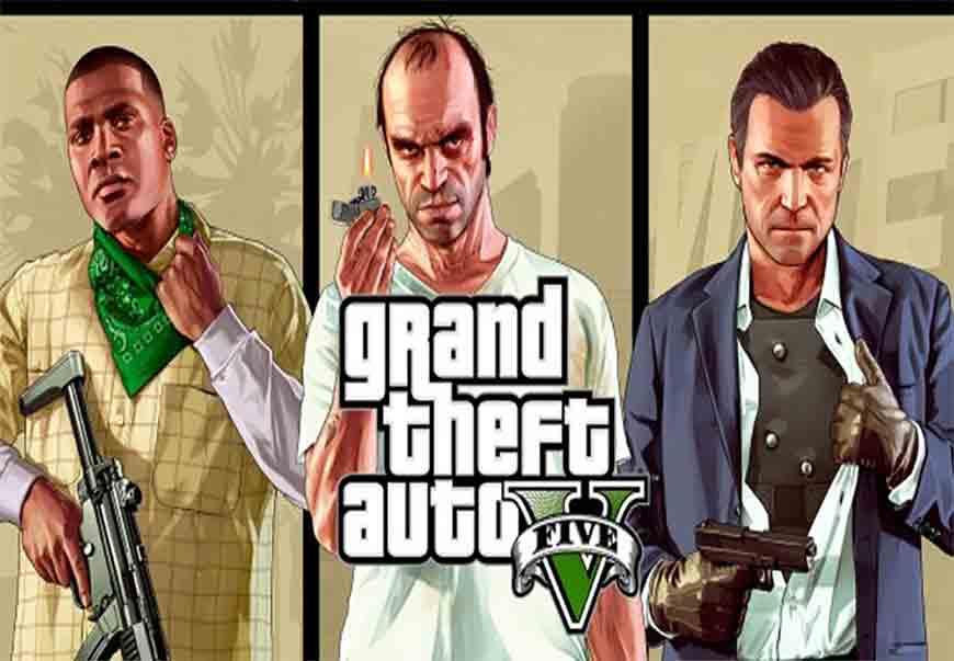 بازی GTA V – جی تی ای ۵ را هماکنون رایگان دانلود کنید