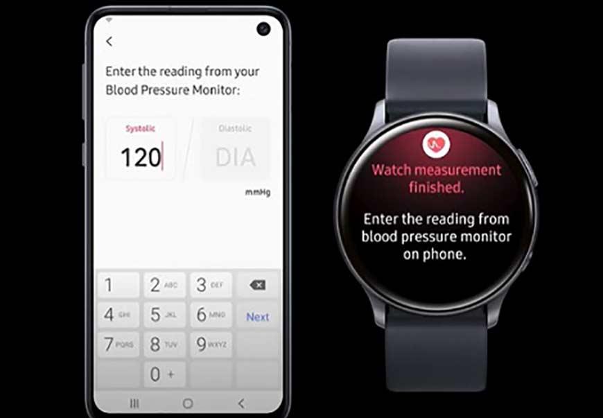 قابلیت سنجش فشار خون به ساعت هوشمند گلکسی واچ سامسونگ اضافه شد